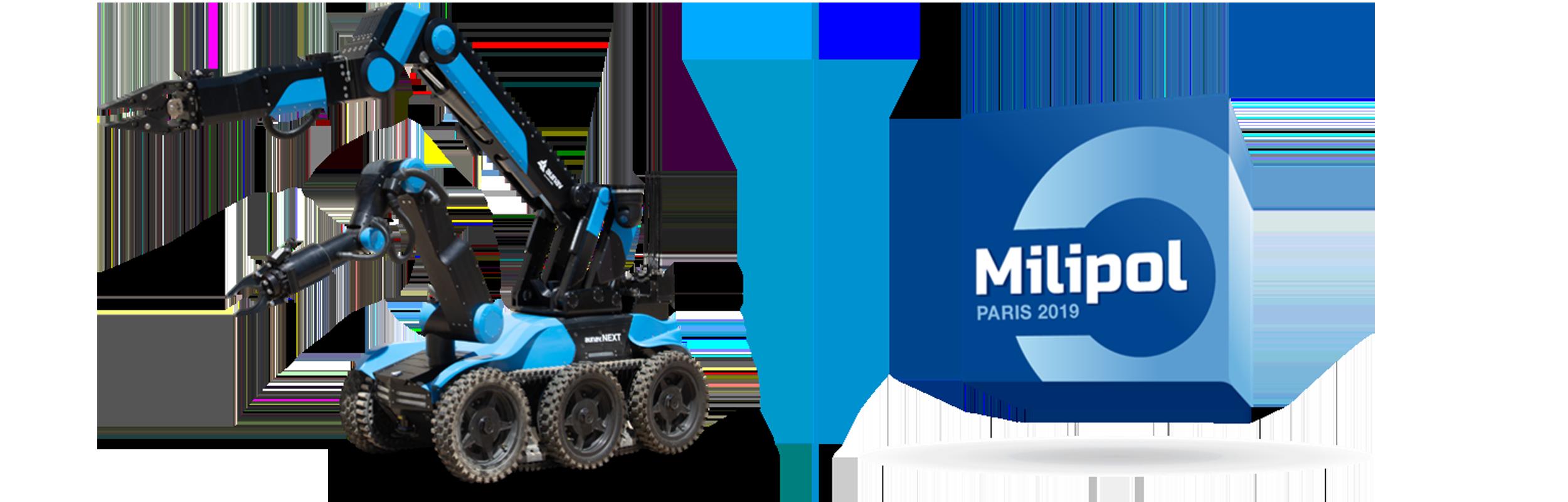 El aunav.NEXT estará presente en Milipol Paris 2019